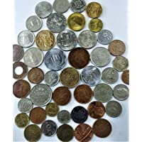 Novelty Collections 45 World Coins (All Different) from Minimum 23 Countries