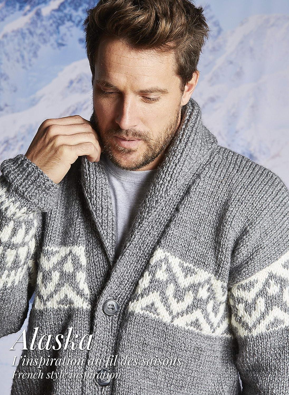 pelote de laine ALASKA Bambi Couleur Beige Gros fil /à tricoter chaud et doux Fabriqu/ée en France 50/% laine peign/ée et 50/% acrylique BERG/ÈRE DE FRANCE