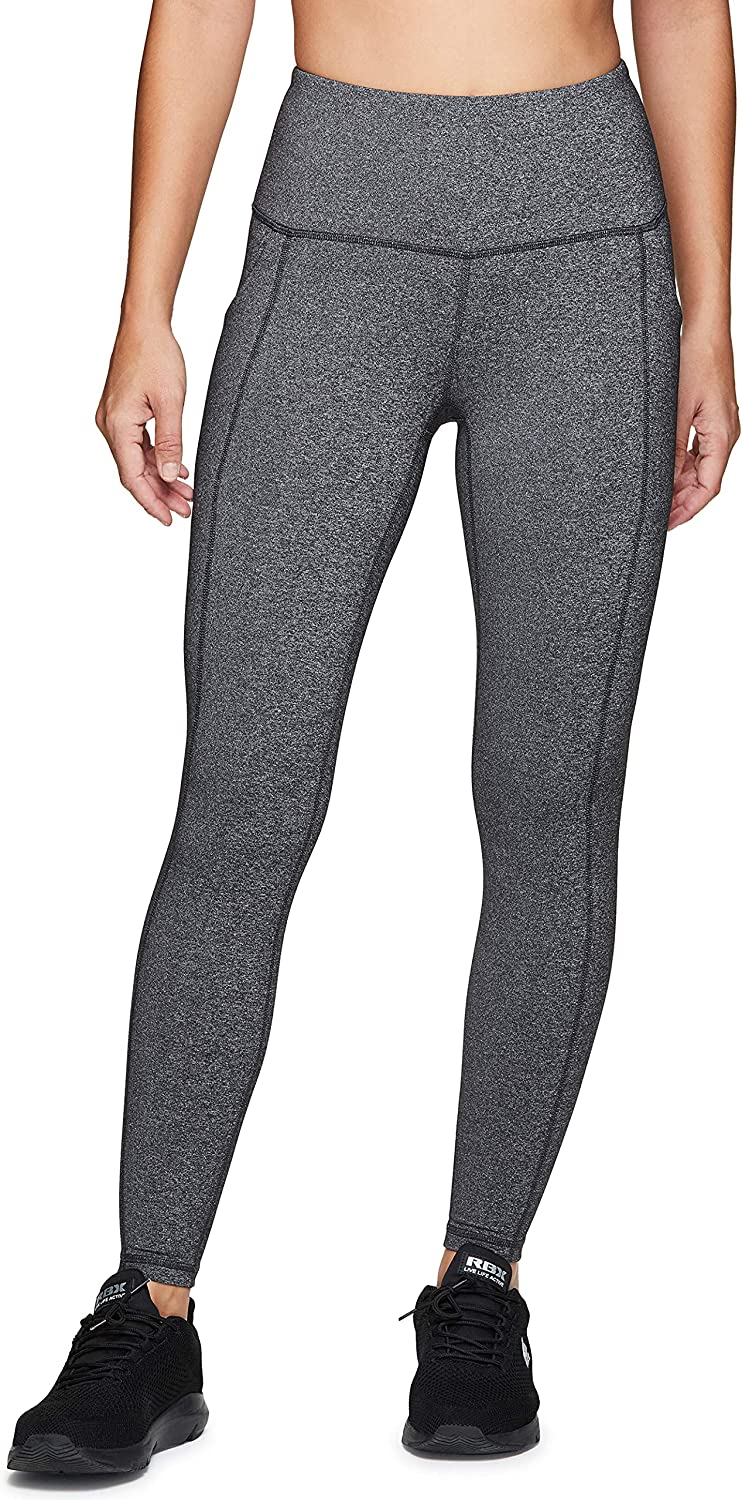 RBX Active Women's Power Hold High Waist Athletic Leggings with Pockets at  Women's Clothing store