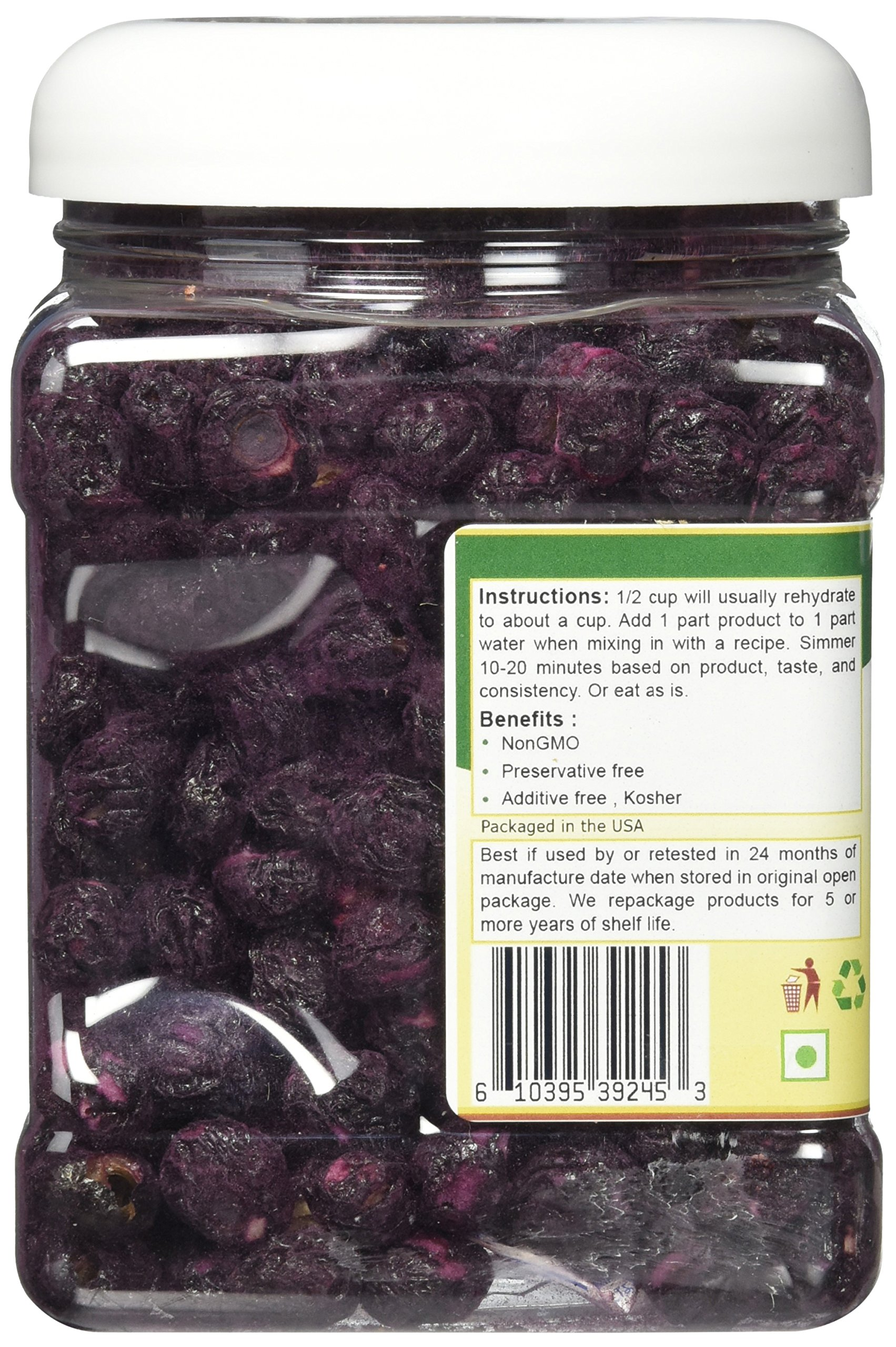 Mother Earth Products Freeze Dried Blueberries, 4 oz by Mother Earth Products (Image #4)