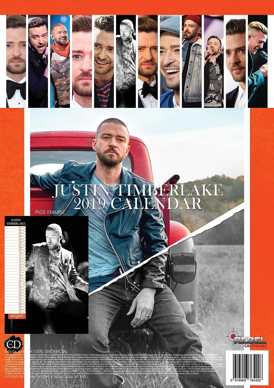 JUSTIN TIMBERLAKE PORTE CL/É JUSTIN TIMBERLAKE CALENDRIER 2019
