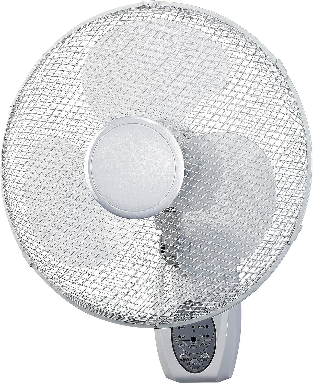 Ventilador / Circulador de aire mural + Mando Hurricane 40cm / 1900 m³/h (WF-40)
