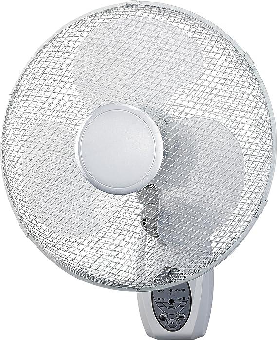 Ventilador / Circulador de aire mural + Mando Hurricane 40cm ...