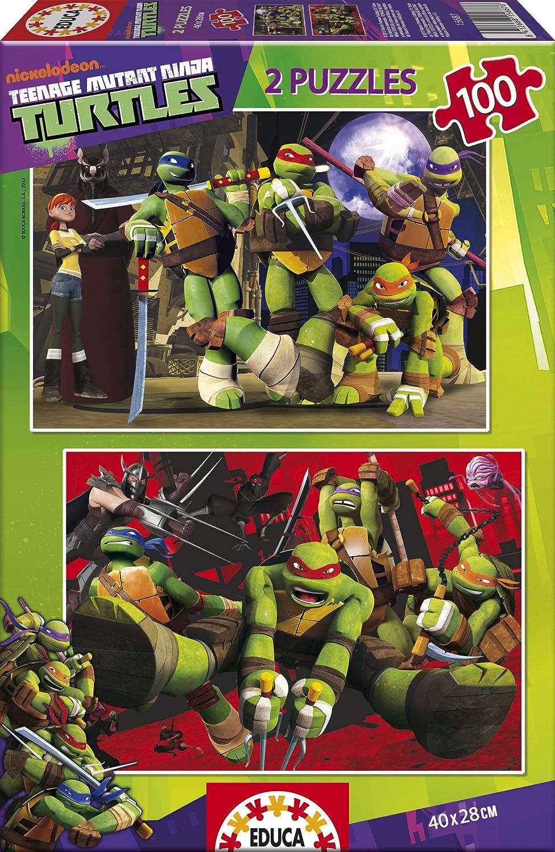 Puzzles Educa Tortugas Ninja puzzles x piezas