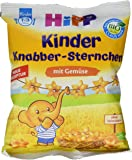 HiPP Knabber Sternchen mit Gemüse, 7er Pack (7 x 30 g)