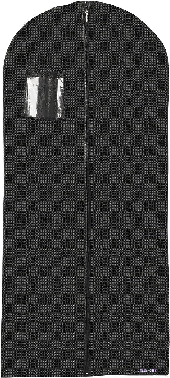 Amazon.com: Bolsa para trajes o vestidos transpirable de ...