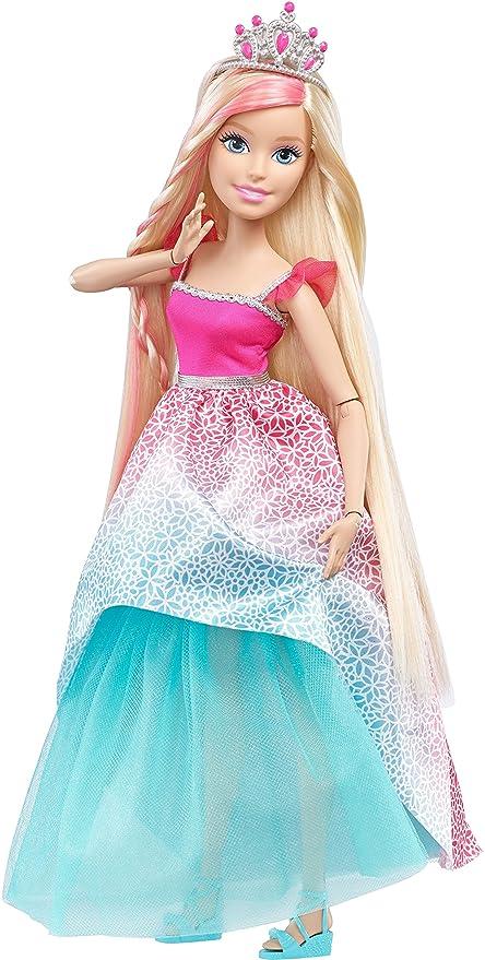 Barbie Principessa Con Accessori Per Acconciature Multicolore