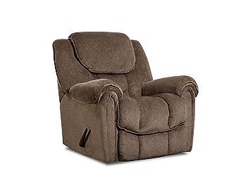 Astonishing Amazon Com Comfortmax 1229817 Laredo Power Rocker Recliner Machost Co Dining Chair Design Ideas Machostcouk