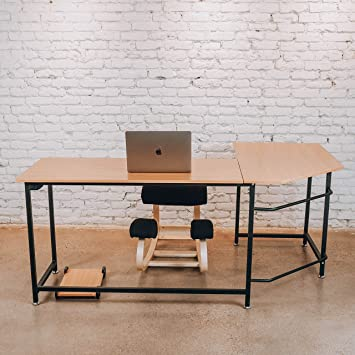 Sleekform L Shaped Corner Office Desk | Gaming Table Or Home Workstation |  Modern Furniture