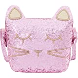 CMK Trendy Kids Cat Purse for Little Girls Toddlers Crossbody Bag