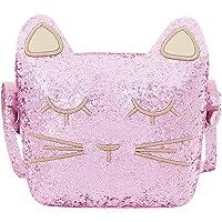 CMK Trendy Kids Cat Purse for Little Girls Toddlers Crossbody Bag