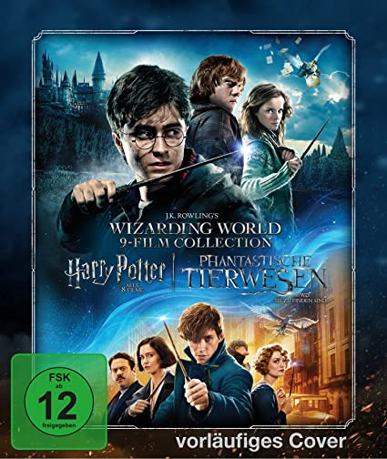 Wizarding World Limited 9-Film Collector's Edition– inkl. Blu-ray Steelbooks und exklusiver Sammelkarten (exklusiv bei Amazon.de) [Limited Edition]