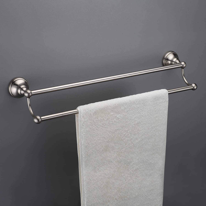 Maykke Boulder 18 Inch Double Towel Bar For Bathroom Or Kitchen