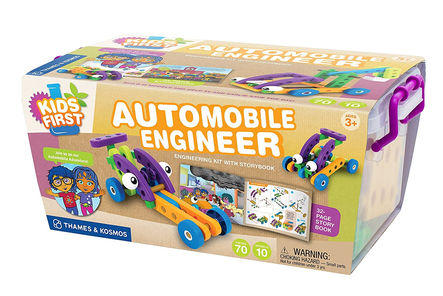 amazon com kids first automobile engineer kit toys u0026 games