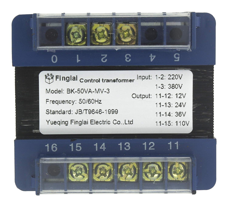 1PC NEW DELIXI Control Transformer BK-50VA 380V//220V to 220V//36V//24V//6V
