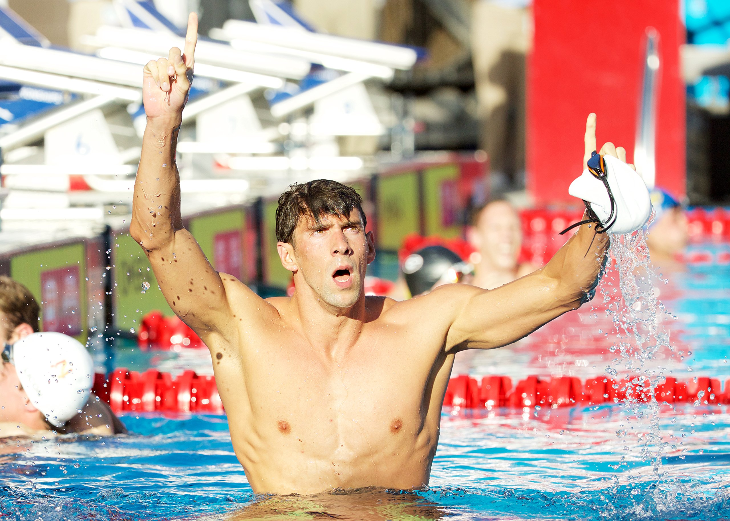 MP Michael Phelps XCEED Swimming Goggles, Mirrored Lens, Yellow/Black Frame by MP Michael Phelps (Image #6)