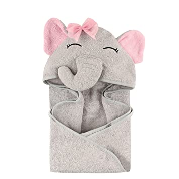 9f0a1c2394 Amazon.com   Hudson Baby Animal Face Hooded Towel