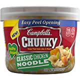 Campbell's Chunky Healthy Request Soup, Classic Chicken Noodle, 15.25 Ounce (Pack of 8)