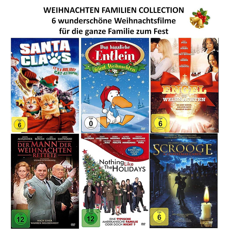 Weihnachten Familien Collection 6 wunderschöne Weihnachtsfilme für ...