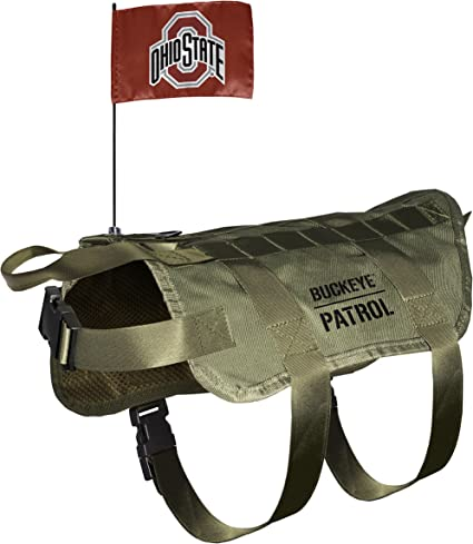 Littlearth NCAA Unisex NCAA Pet Puffer Vest