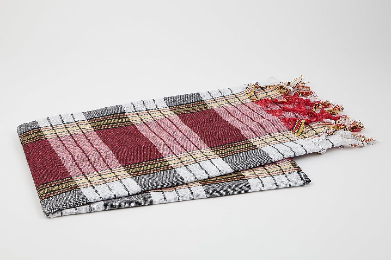 The serviette de hammam rouge modèle classic de «my ...