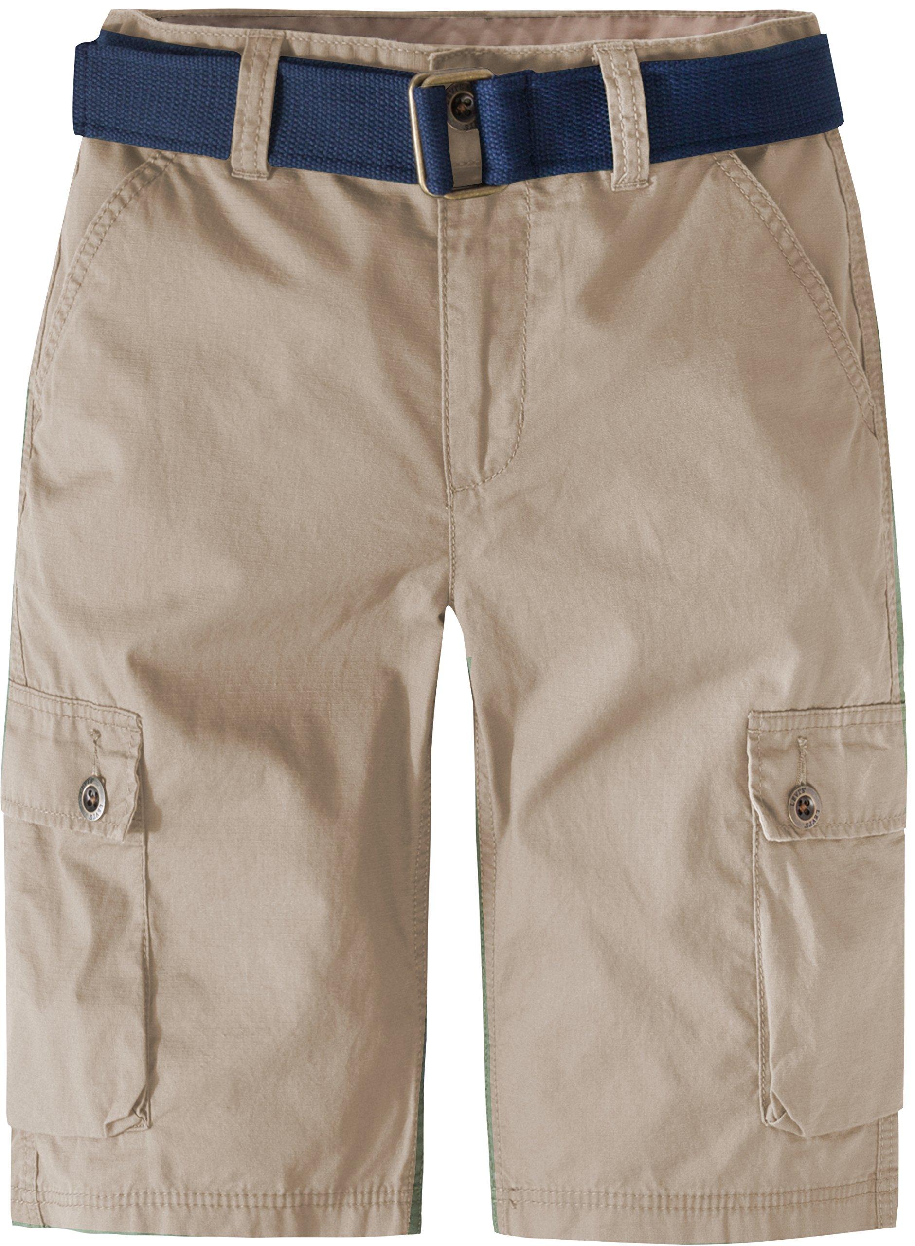 Levi's Big Boys' Cargo Shorts, Incense, 16
