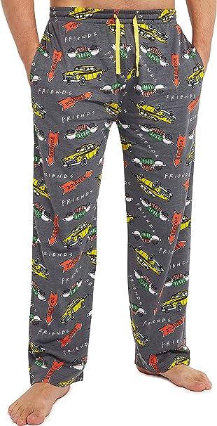 FRIENDS Pantalon Pijama Hombre, Ropa Hombre 100% Algodon, Pantalon Largo Pijama, Merchandising Oficial Regalos para Hombre y Chico Adolescente Talla S - 3XL: Amazon.es: Ropa y accesorios