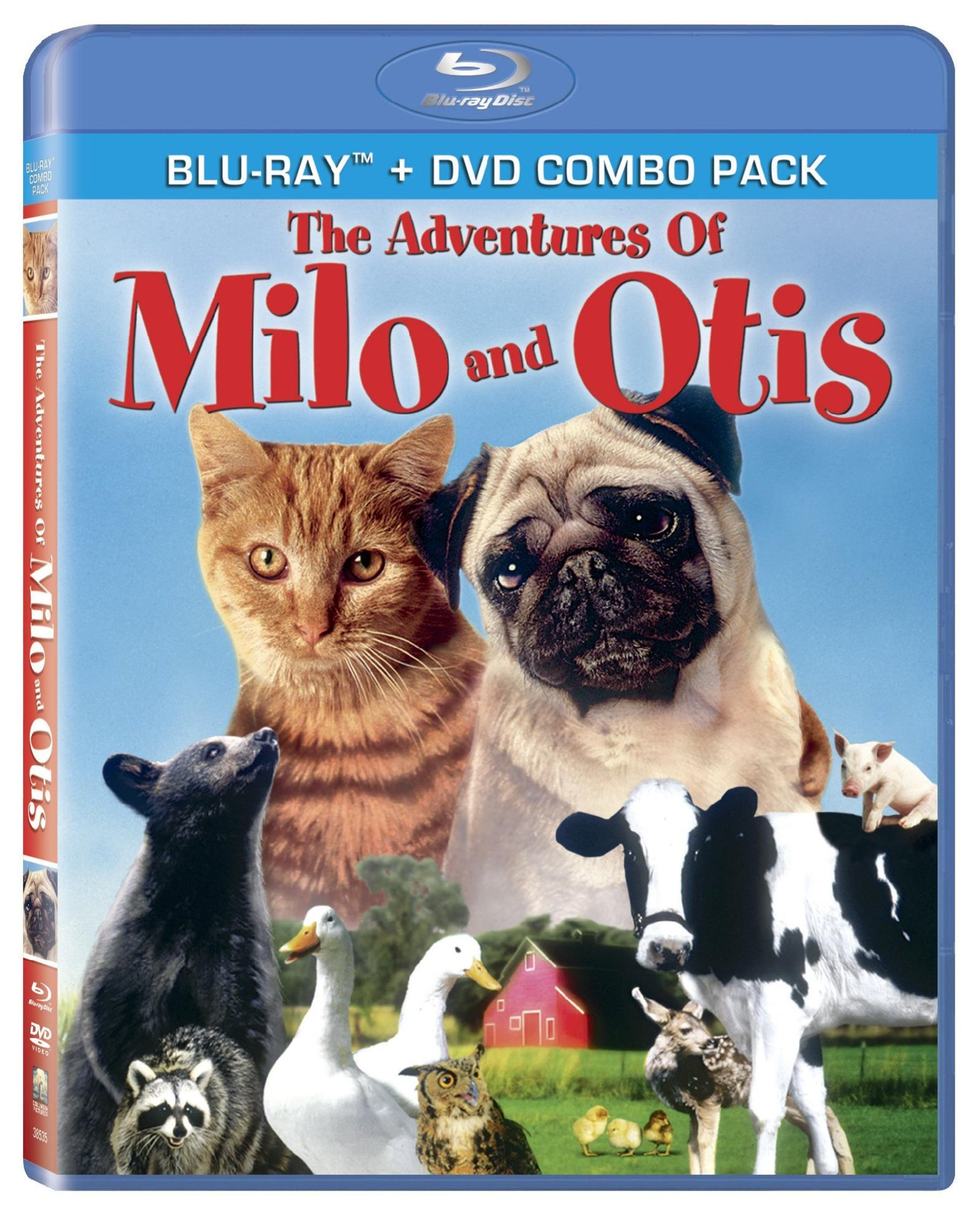 Blu-ray : The Adventures of Milo and Otis (With DVD, Dolby, AC-3, Widescreen, )