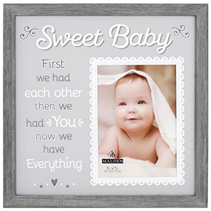 Amazon.com: Malden International Designs 4730-57 Baby Memories ...