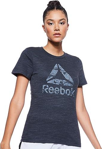 Camiseta Mujer Reebok Te Marble Logo tee