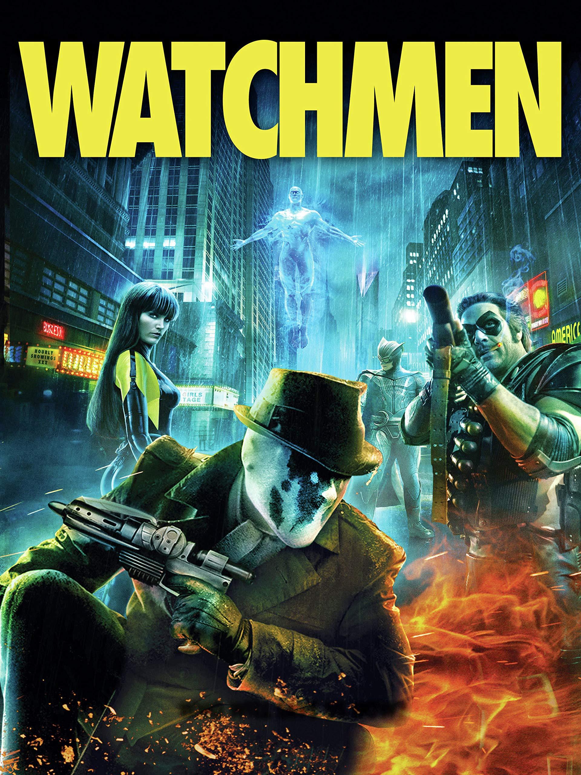 Amazon Com Watchmen Malin Akerman Billy Crudup Matthew Goode Carla Gugino