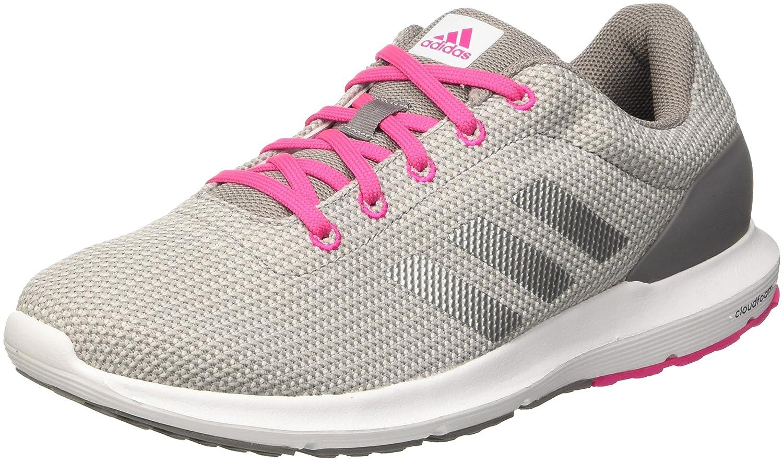 adidas Damen Cosmic W Laufschuhe, Grau  38 EU|Mehrfarbig (Chsogr/Silvmt/Shopin)