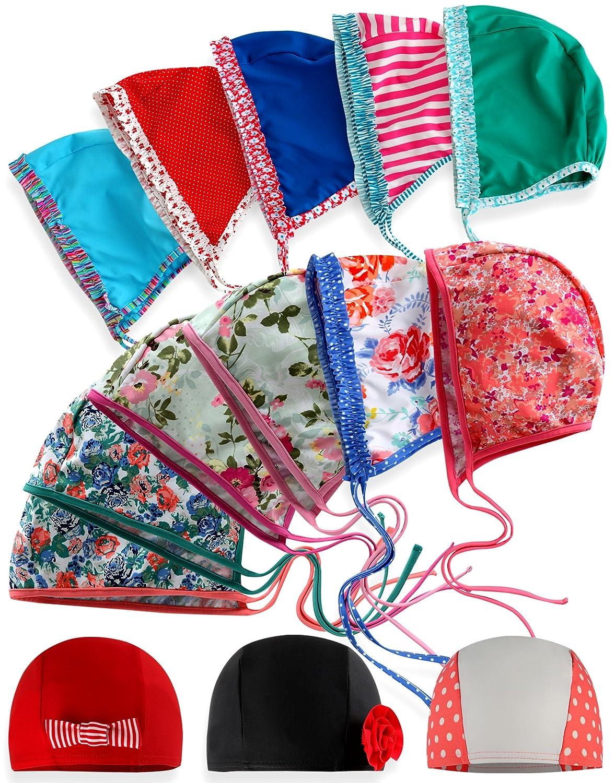 Vaenait Baby Bonnet de bain imperméable et protection UV pour bébé fille   Amazon.fr  Sports et Loisirs 88fd59fbb2d