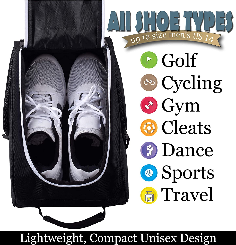 a30b9a962cfd9 Athletico - Bolsa para zapatos de golf con cremallera