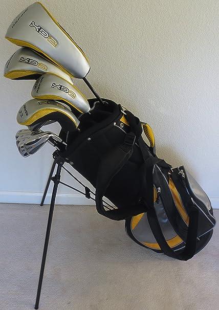 Para hombre juego completo de palos de golf conductor ...