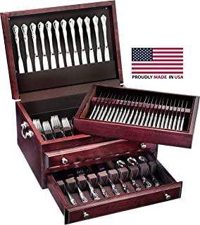 product image for American Chest Presidential Super Flatware Chest