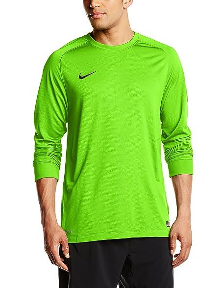 82ea174f7 ... Nike Long Sleeve Youth Park Goalie II Soccer Goalkeeper Jersey (Youth  Medium) Electric Green ...