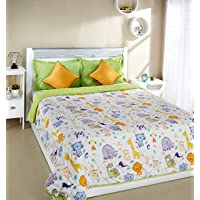 Amazon Brand - Solimo Microfibre Printed Quilt Blanket