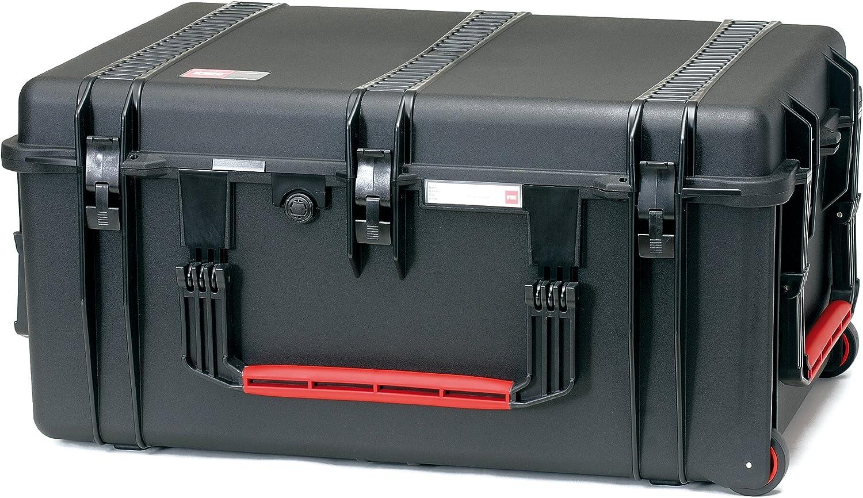 2780WE HPRC Hard Case con Ruedas (TX01 Material, 142 litros de Volumen, sin Contenido) Negro