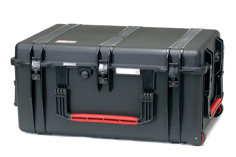 HPRC 2780WE Hardcase mit Rollen (TX01 Material, 142 Liter Volumen, ohne Inhalt) schwarz