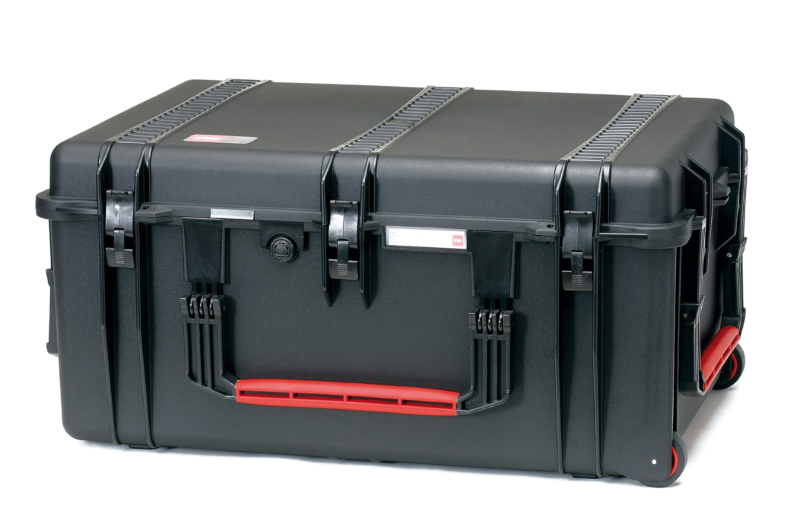 HPRC 2780WDK Wheeled Hard Case with Divider Kit (Black) by HPRC