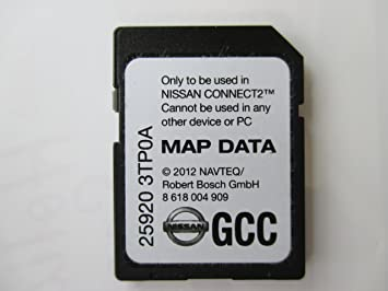 Amazoncom 3TP0A GCC 2013 NISSAN CONNECT SD NAVIGATION CARD with