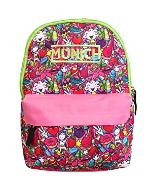 Munich Animal Mochila Tipo Casual, 33 cm, 15 litros, Rosa: Amazon.es: Equipaje
