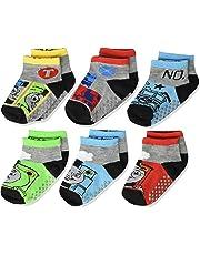 Thomas the Train & Friends Toddler Boys 6 pack Gripper Socks