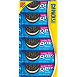 Oreo Double Stuf Chocolate Sandwich Cookies, 1.5 Ounce (Pack of 12)