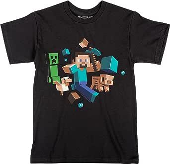 Jinx Minecraft Boys' Periodic Table Youth Tee