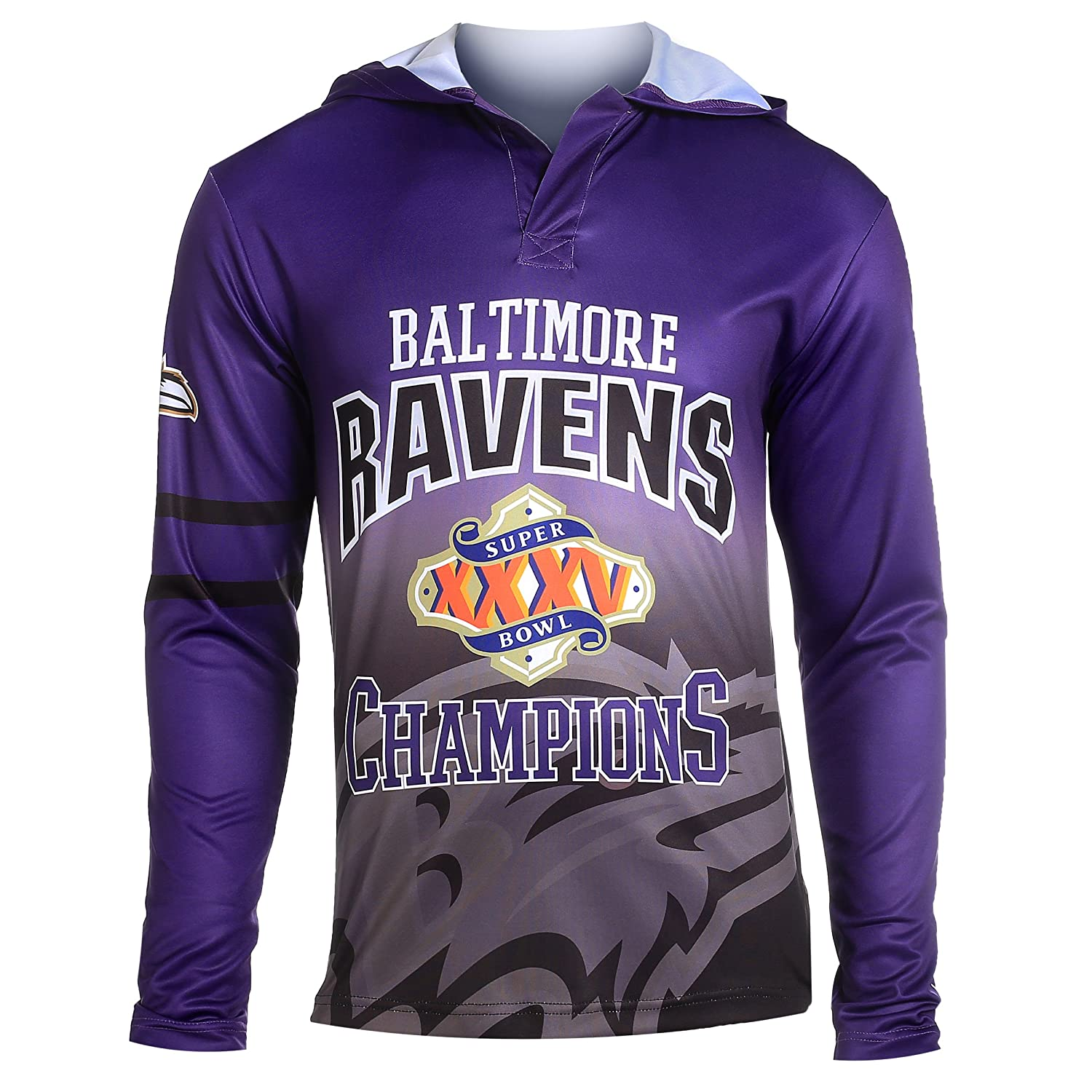 c9ed2b782 Forever Collectibles NFL Football Super Bowl Champions Commemerative Poly Hoody  Tee - Pick Team  Amazon.co.uk  Sports   Outdoors
