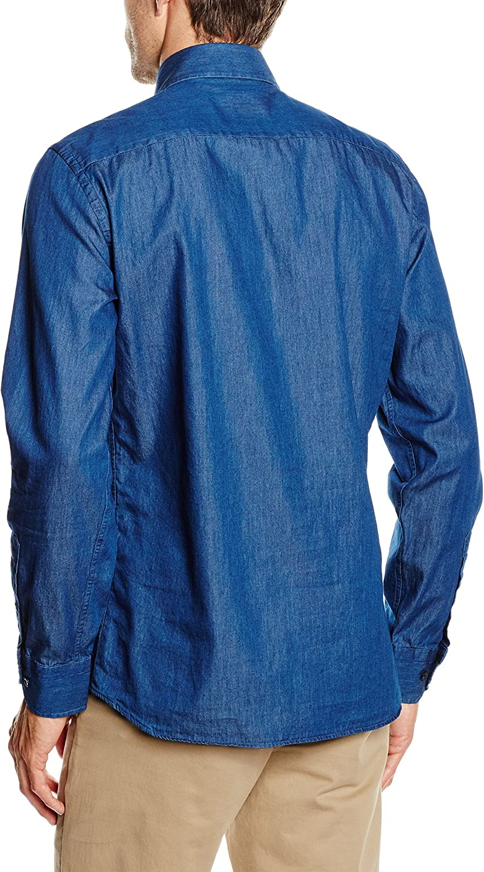 Mirto Capri Camisa, Indigo, 2 para Hombre: Amazon.es: Ropa y accesorios