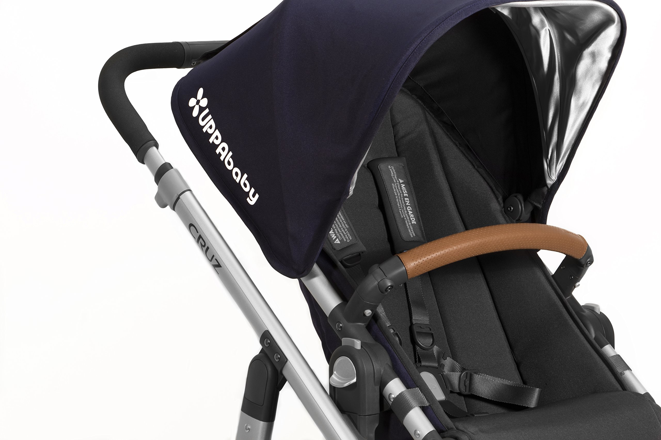 UPPAbaby Leather Bumper Bar Cover - Saddle