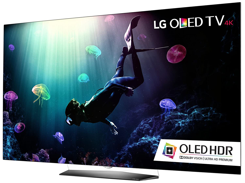 Amazon.com: LG Electronics OLED55B6P Flat 55-Inch 4K Ultra HD Smart ...